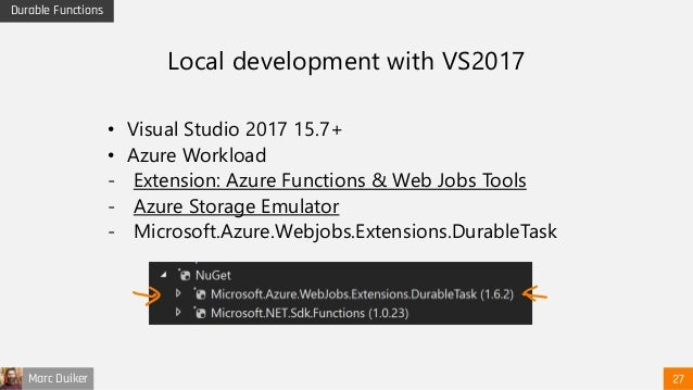 Take your Azure Functions to the next level with Durable Functions - …