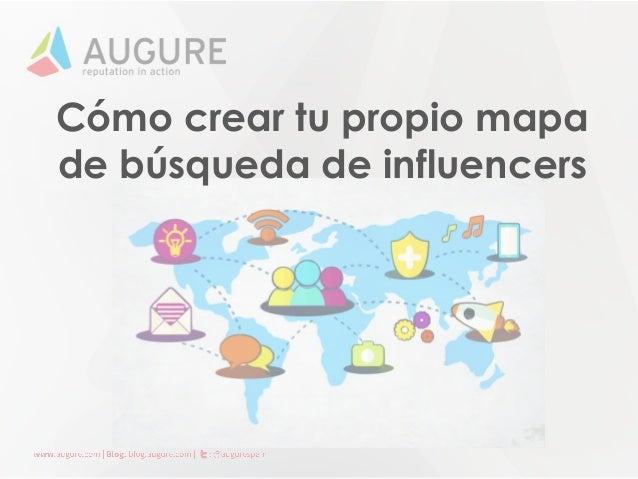 Cómo crear tu propio mapa de búsqueda de influencers