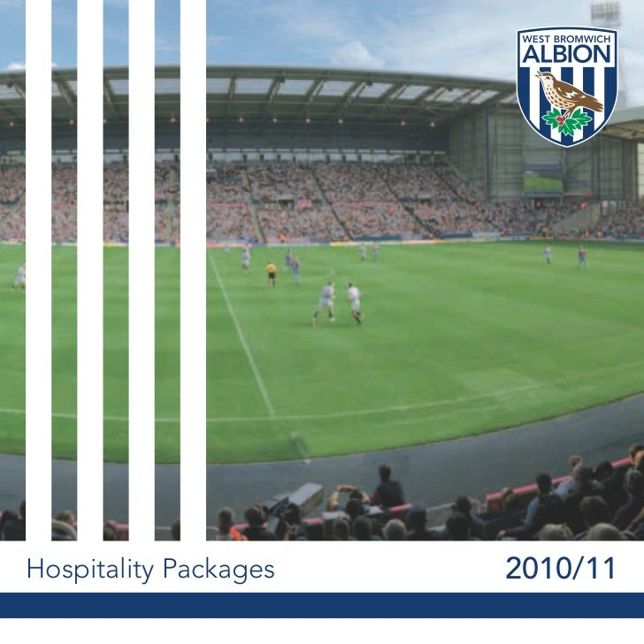 Hospitality Packages   2010/11