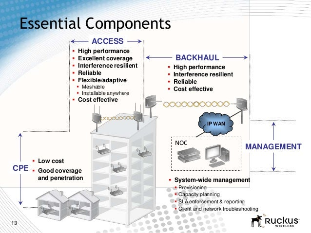 13 System-wide management Provisioning Capacity planning SLA enforcement & reporting Client and network troubleshooti...