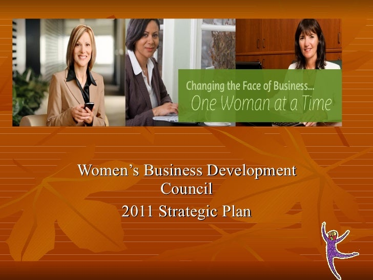 Women's Business Development Council 2011 Strategic Plan