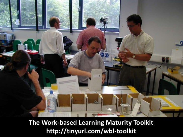The Work-based Learning Maturity Toolkit<br />http://tinyurl.com/wbl-toolkit<br />