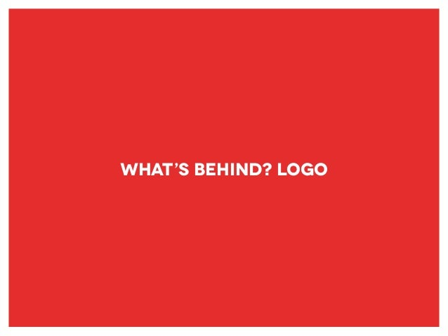 What's Behind? Logo