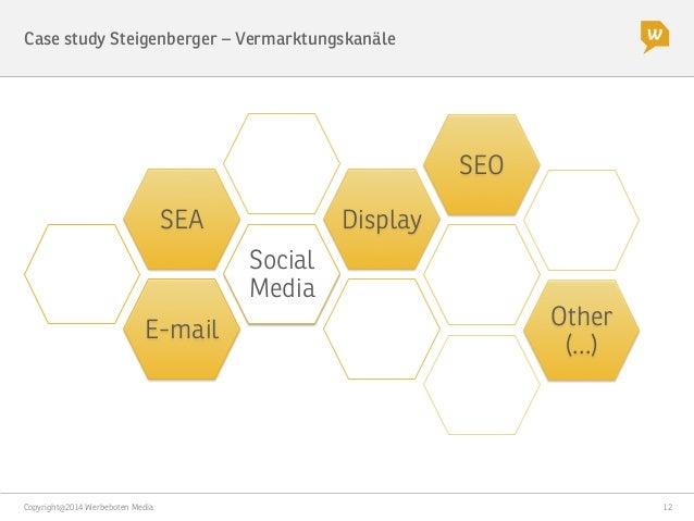 Copyright@2014 Werbeboten Media  12 Case study Steigenberger – Kampagne