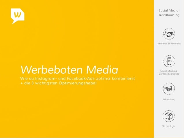 Social Media Brandbuilding Strategie & Beratung Social Media & Content Marketing Advertising Technologie Werbeboten Media ...