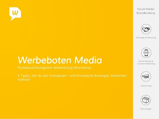 Social Media Brandbuilding Strategie & Beratung Social Media & Content Marketing Advertising Technologie Werbeboten Media ...
