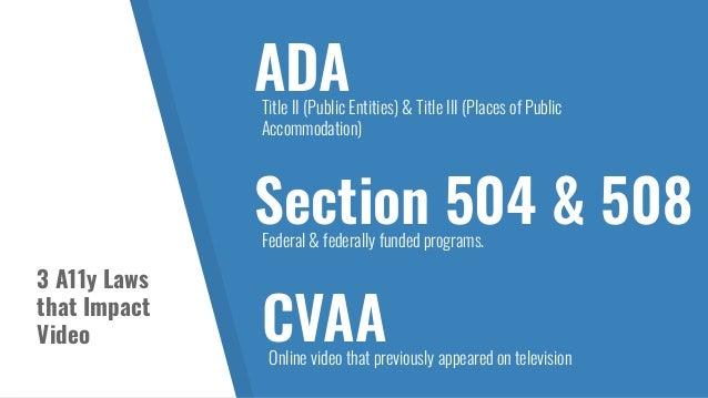 Lawsuits STREAMING MEDIA NAD vs. Netflix; ACB vs. Netflix; NAD vs. Hulu; ACB vs. Hulu; NAD vs. Amazon; etc. HIGHER ED NAD vs...