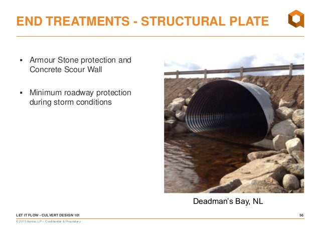 Let it Flow! Culvert Design 101 – Basic Hydraulics, Culvert