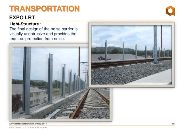 Transportation & Environmental Noise Mitigation