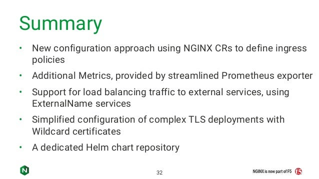 What's New in NGINX Ingress Controller for Kubernetes