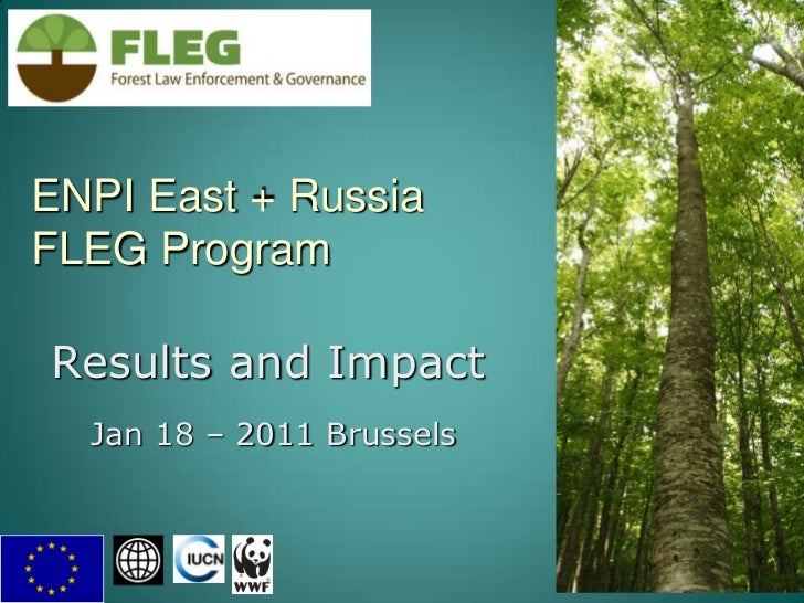 ENPI East + RussiaFLEG Program <br />1<br />Results and Impact<br />Jan 18 – 2011 Brussels<br />