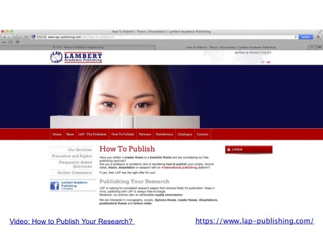 Dissertations - Submitting Your Dissertation or Thesis to.