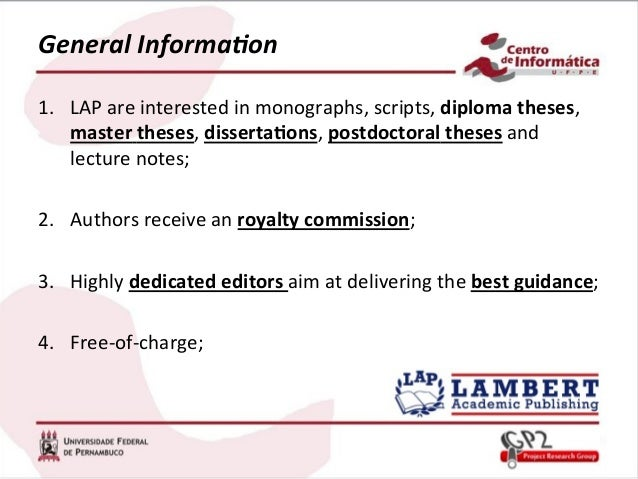 publishing your dissertation as a book Dissertation to book dr laura otis, professor in the english department at emory university, has generously provided the following advice on publishing academic books as a followup to the.