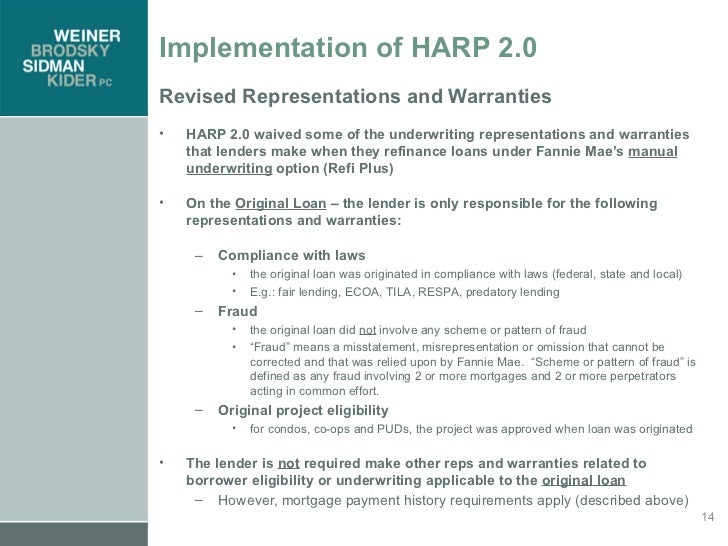 Intro to M&A Representations and Warranties