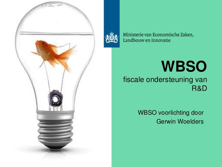 WBSO Workshop 2011