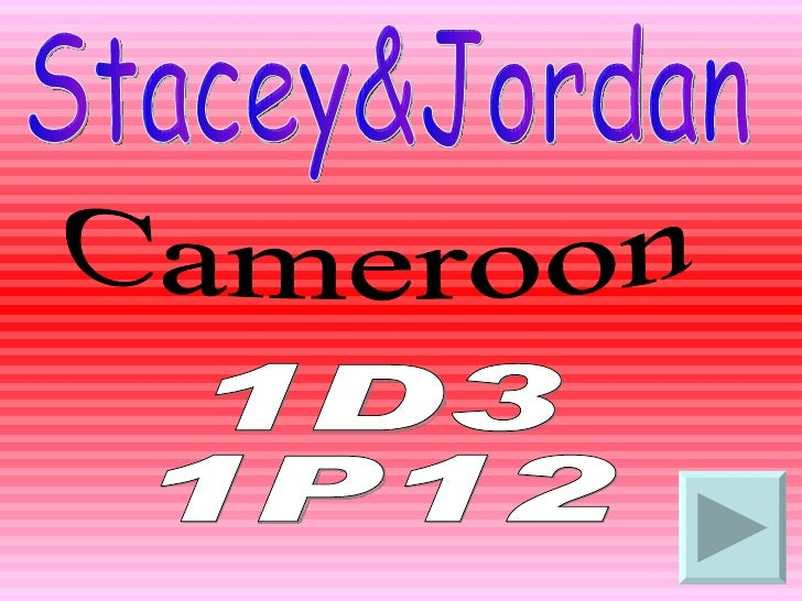 Stacey&Jordan Cameroon 1D3 1P12