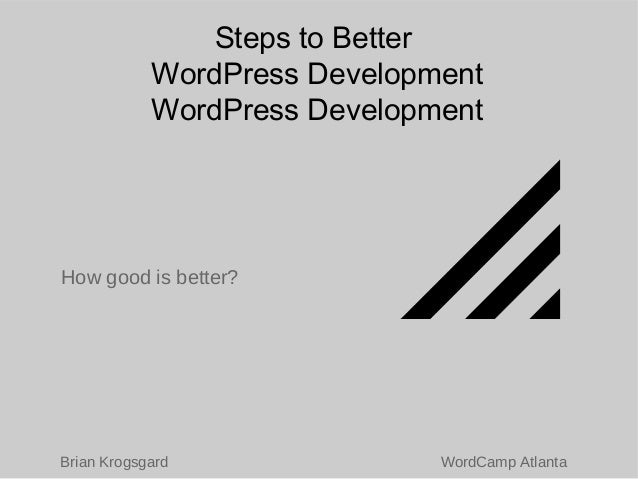 Going For It: How to Become a Respected WordPress Developer