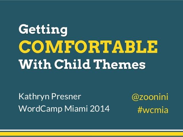 Kathryn Presner WordCamp Miami 2014 @zoonini #wcmia