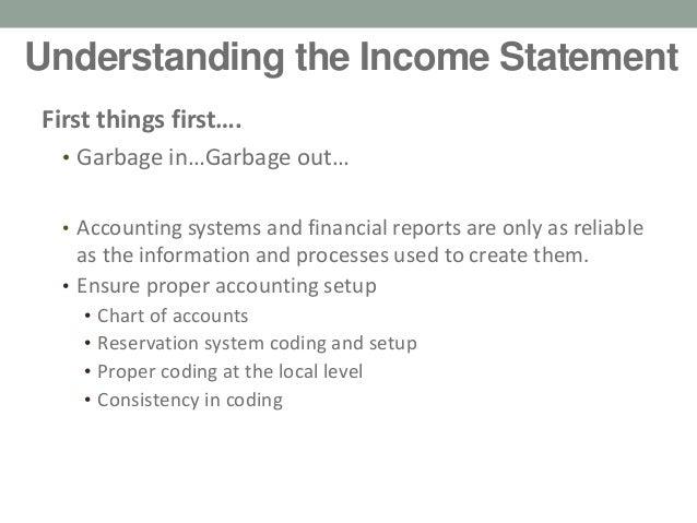 create income statement
