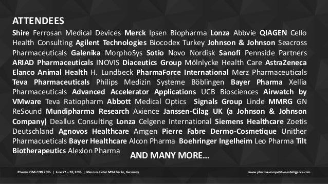 Pharma Cimi Con 2016 Post Event Report