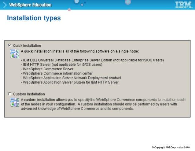 websphere commerce server admin configuration