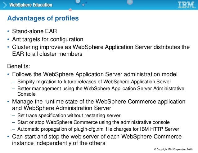 websphere commerce server admin configuration