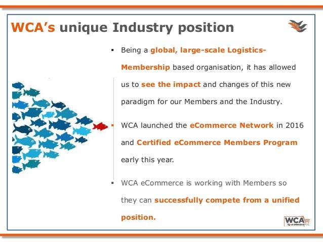 WCA eCommerce: Working together in a Global Network