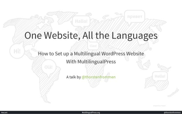 One Website, All the Languages