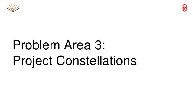 Problem Area 3: Project Constellations