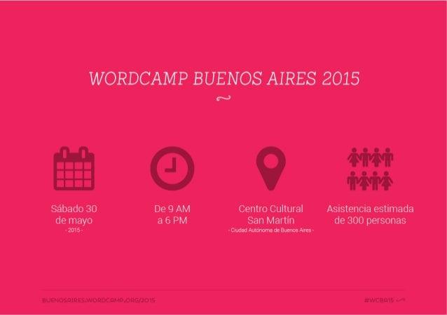07 de abril de 2015: Andrés Villarreal - WordCamp Buenos Aires 2015 Slide 3
