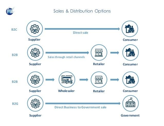 Directsale Salesthroughretailchannels Retailer B2B B2B B2C B2G DirectBusinesstoGovernmentsale Sales & Distribution...