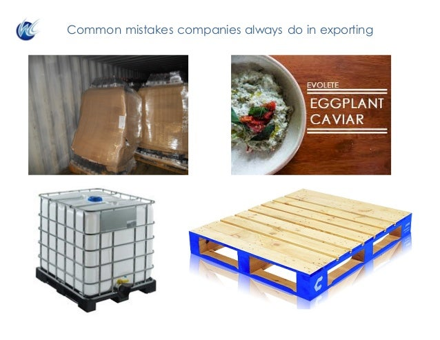Common mistakes companies always do in exporting