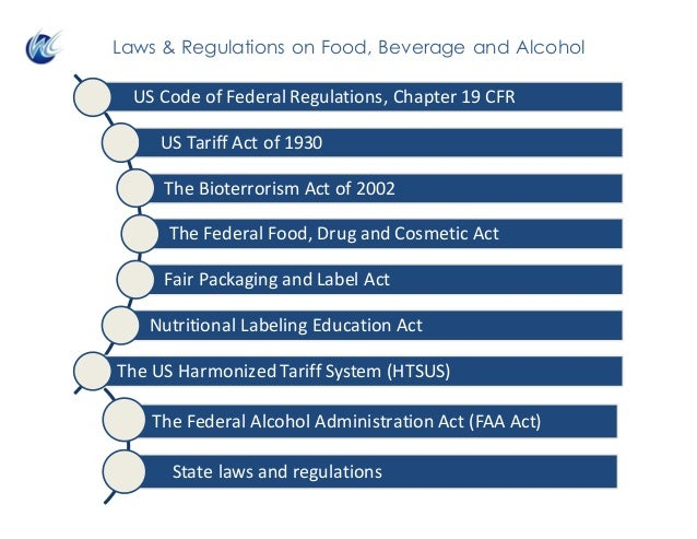 TheFederalAlcoholAdministrationAct (FAAAct) l Statelawsandregulations Laws & Regulations on Food, Beverage and Alc...