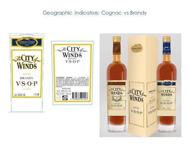Geographic indicators: Cognac vs Brandy