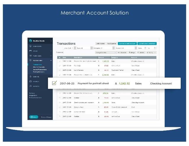 Merchant Account Solution