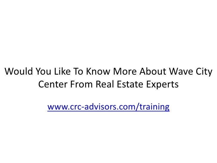 Expert Review On Wave City Center