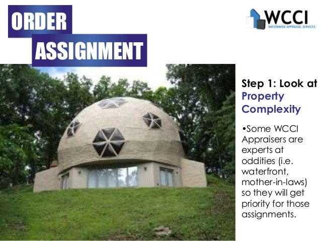 Wcci appraisal management services for What do house appraisers look for