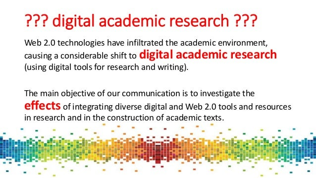 online academic research writing
