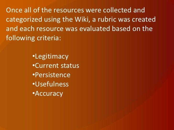 WCET 2011 - Academic Integrity Subcommittee Work Slide 3