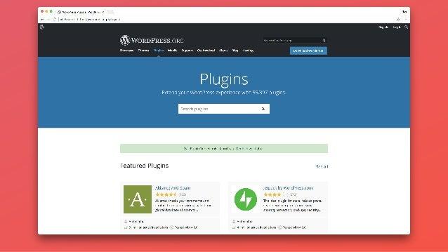 "Lack of WordPress ""website builder"" platforms."