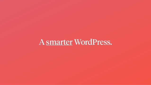 WordPress in 2019