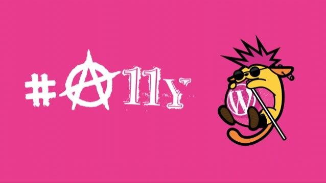 Wappu #a11y