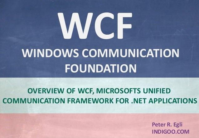 Tutorial pdf wcf microsoft