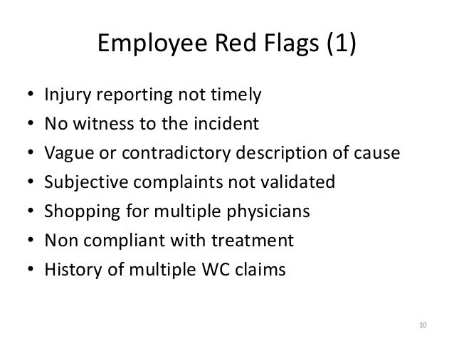 Work Comp Fraud From The Physician S Perspective August 14 2014