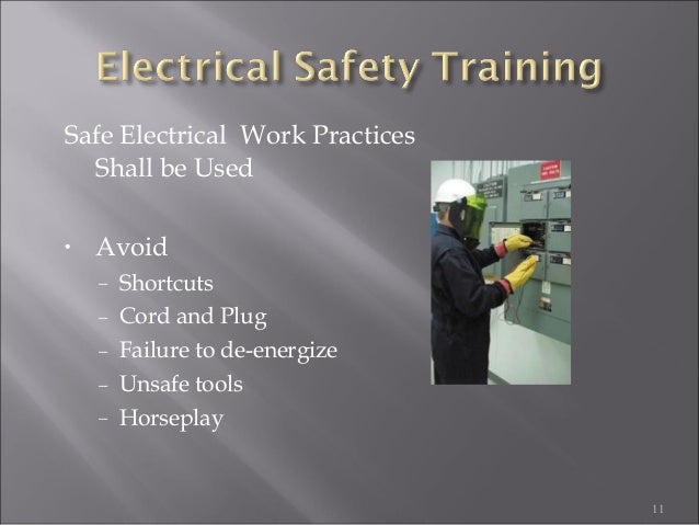 Electrical Safety By Industrial Safety Institute