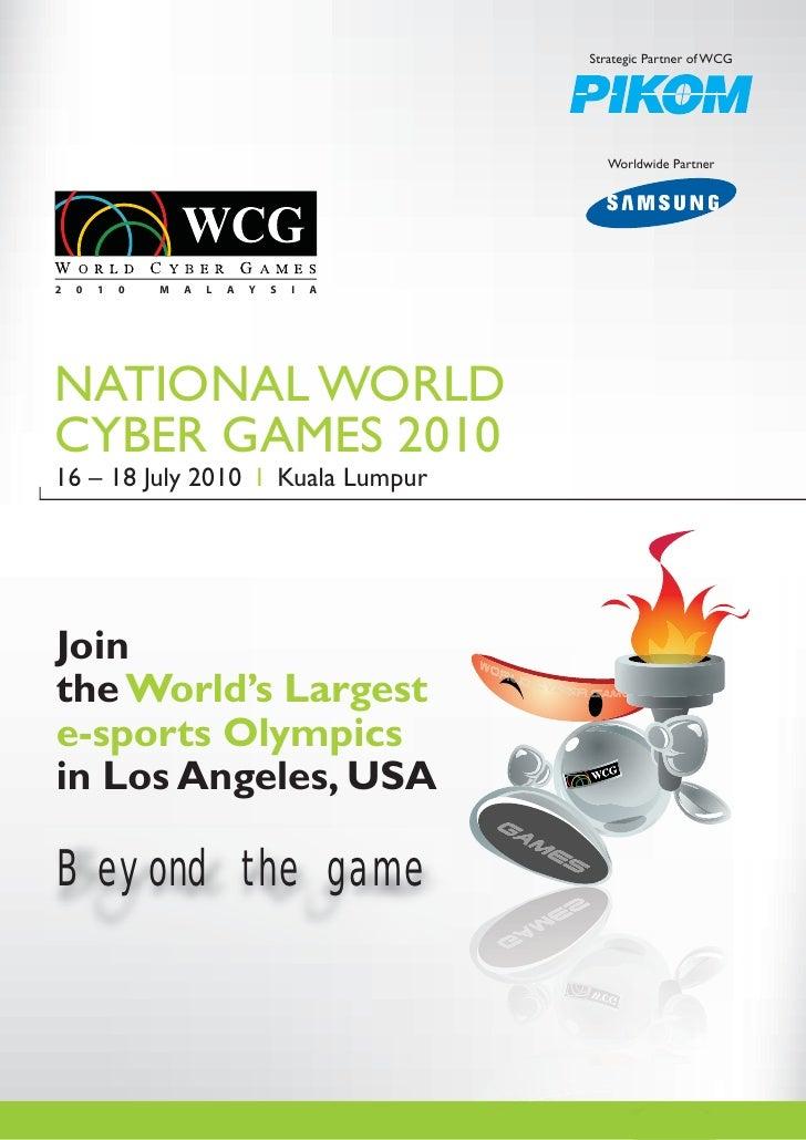 Strategic Partner of WCG                                                        Worldwide Partner     2   0   1   0   M   ...
