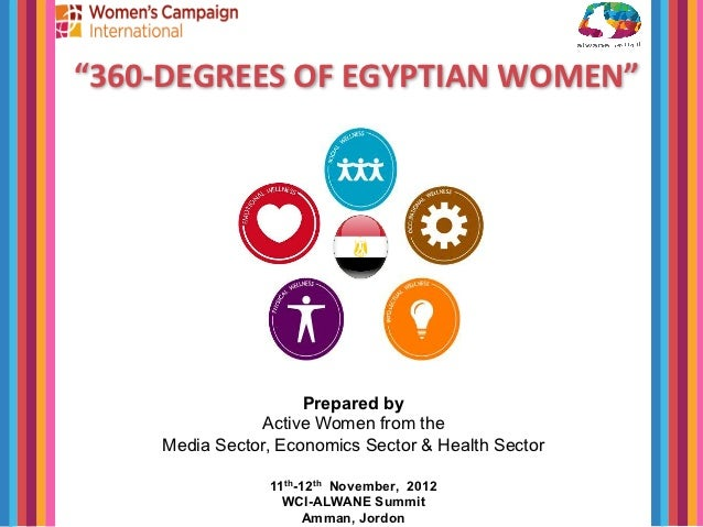 """360-­‐DEGREES	  OF	  EGYPTIAN	  WOMEN""	                          	                        	  	                          P..."