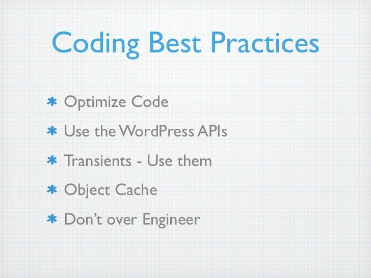 WordPress: Performance, Optimization & Scaling slideshare - 웹