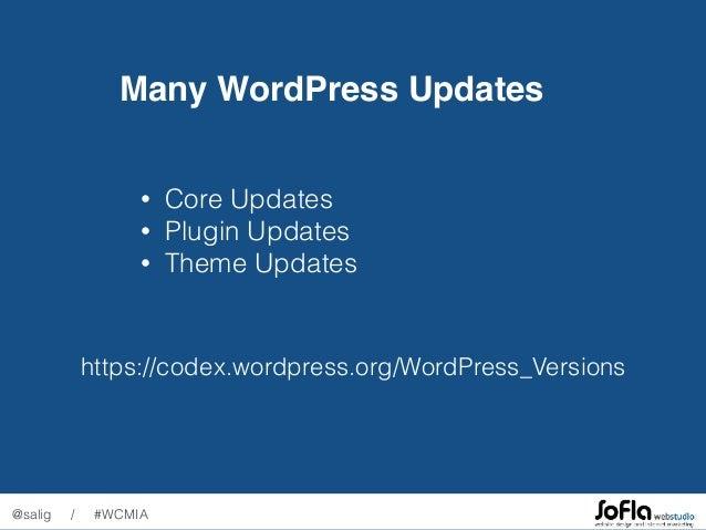 Managing Multiple WordPress Websites in 2017 Slide 2