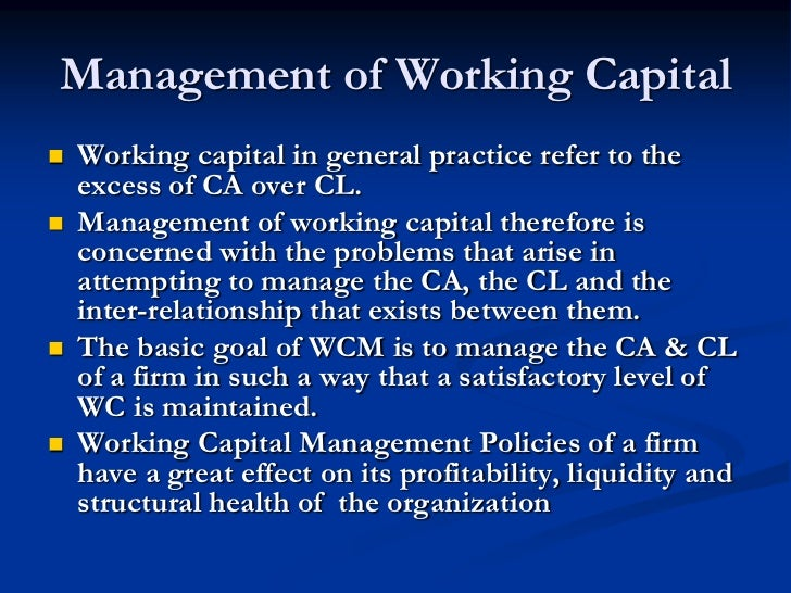 working capital management of infosys Rel, a division of the hackett group, helps leading global companies release billions in cash flow through sustainable working capital management and improvement programs.